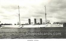shi003792 - Marina 08114-a Flygia Military Battleship Postcard Post Card Old Vintage Antique