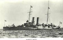 shi003797 - Marina 08109-a Ornen Military Battleship Postcard Post Card Old Vintage Antique