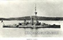 shi003799 - Marina 08099-b Niord Military Battleship Postcard Post Card Old Vintage Antique