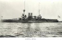 shi003801 - Marina 08098-a Thor Military Battleship Postcard Post Card Old Vintage Antique