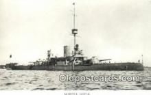 shi003804 - Marina 08097-b Oden Military Battleship Postcard Post Card Old Vintage Antique