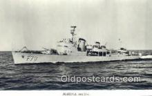 shi003805 - Marina 08135-c Karlskrona Military Battleship Postcard Post Card Old Vintage Antique
