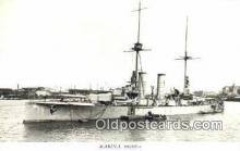 shi003809 - Marina 08106-a Sverige Military Battleship Postcard Post Card Old Vintage Antique