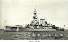 shi003810 - Marina 08106-b Sverige Military Battleship Postcard Post Card Old Vintage Antique