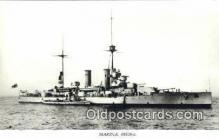 shi003811 - Marina 08108-a Gustaf V Military Battleship Postcard Post Card Old Vintage Antique