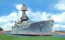 shi003827 - USS Texas Military Battleship Postcard Post Card Old Vintage Antique