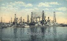 shi003832 - Philadelphia Navy Yard, League Island, Philadelphia, Pennsylvania, PA USA Military Battleship Postcard Post Card Old Vintage Antique