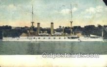 shi003845 - US Kentucky Military Battleship Postcard Post Card Old Vintage Antique