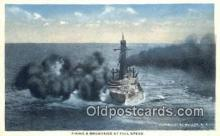 shi003861 - Dreadnaught Military Battleship Postcard Post Card Old Vintage Antique