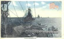 shi003862 - Peace Preservers Military Battleship Postcard Post Card Old Vintage Antique