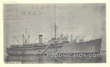shi003864 - USS Cascade AD16 Military Battleship Postcard Post Card Old Vintage Antique