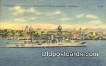 shi003869 - San Diego, California, CA USA Military Battleship Postcard Post Card Old Vintage Antique