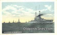 shi003870 - Military Battleship Postcard Post Card Old Vintage Antique