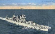 shi003874 - US Light Cruiser 69 Military Battleship Postcard Post Card Old Vintage Antique