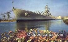 shi003878 - USS North Carolina, Wilmington, North Carolina, NC USA Military Battleship Postcard Post Card Old Vintage Antique