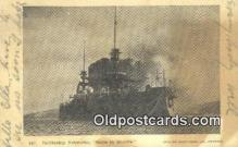 shi003879 - Nebraska Military Battleship Postcard Post Card Old Vintage Antique