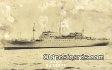 shi003883 - USNS, Barrett Military Battleship Postcard Post Card Old Vintage Antique
