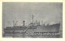 shi003886 - USS Cascade AD14 Military Battleship Postcard Post Card Old Vintage Antique
