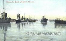 shi003918 - Alexander Dock, Newport, Mon Postcard Post Card Old Vintage Antique