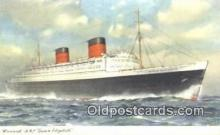 shi003919 - RML Queen Elizabeth Postcard Post Card Old Vintage Antique