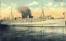 shi003944 - Steamer Yale, SS Norman Prince Postcard Post Card Old Vintage Antique