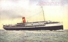shi003946 - Steamship Avalon Postcard Post Card Old Vintage Antique