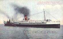 shi003954 - Palatial Steamship, Avalon Postcard Post Card Old Vintage Antique