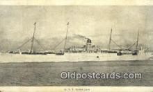 shi003961 - UST Sheridan Military Battleship Postcard Post Card Old Vintage Antique