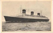 shi004014 - French Line Normandie Ship Ships Postcard Postcards