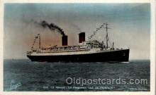 shi004027 - SS Ile de France French Line Ship Ships Postcard Postcards