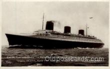 shi004029 - SS Normandie French Line Ship Ships Postcard Postcards