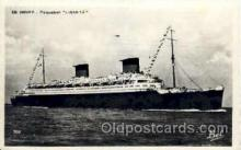 shi004036 - Liberte French Line Ship Ships Postcard Postcards
