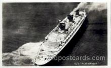 shi004038 - SS Normandie French Line Ship Ships Postcard Postcards