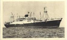 shi004040 - Caledonien French Line Ship Ships Postcard Postcards