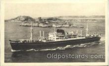 shi004041 - La Bourdonnais French Line Ship Ships Postcard Postcards