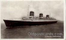 shi004045 - SS Normandie French Line Ship Ships Postcard Postcards
