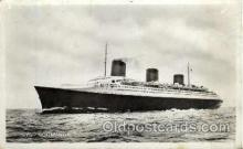 shi004056 - SS Normandie French Line Ship Ships Postcard Postcards