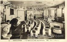 shi004075 - SS Normandie French Line Ship Ships Postcard Postcards