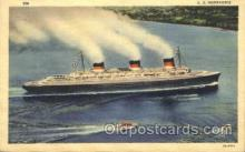shi004084 - S.S. Normandie French Line, Lines, Ship Ships Postcard Postcards