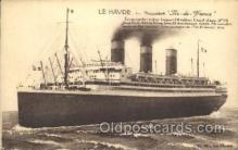 shi004091 - S.S. Ile de France French Line, Lines, Ship Ships Postcard Postcards
