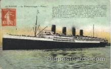 shi004094 - Le Havre French Line, Lines, Ship Ships Postcard Postcards