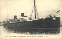 shi004096 - Le Havre French Line, Lines, Ship Ships Postcard Postcards