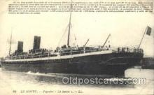 shi004103 - Le Havre French Line, Lines, Ship Ships Postcard Postcards