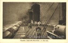 shi004104 - S.S. Ile de France French Line, Lines, Ship Ships Postcard Postcards