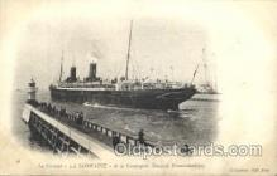 shi004105 - La Lorraine French Line, Lines, Ship Ships Postcard Postcards