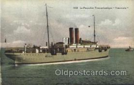 shi004109 - Le Paquebot Transatlantique Venezuela French Line, Lines, Ship Ships Postcard Postcards