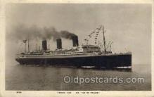 shi004117 - SS Ile De France Steamer, Steam Boat, Ship Ships, Postcard Postcards