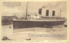 shi004124 - SS Ile De France Steamer, Steam Boat, Ship Ships, Postcard Postcards