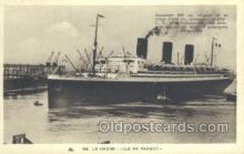 shi004129 - SS Ile De France Steamer, Steam Boat, Ship Ships, Postcard Postcards