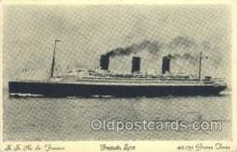 shi004133 - SS Ile De France Steamer, Steam Boat, Ship Ships, Postcard Postcards